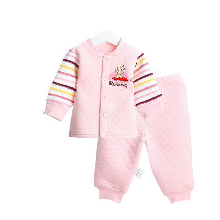2016 Newborn Baby Clothing Sets Autumn Winter Long Sleeve 100% Cotton Baby Suits
