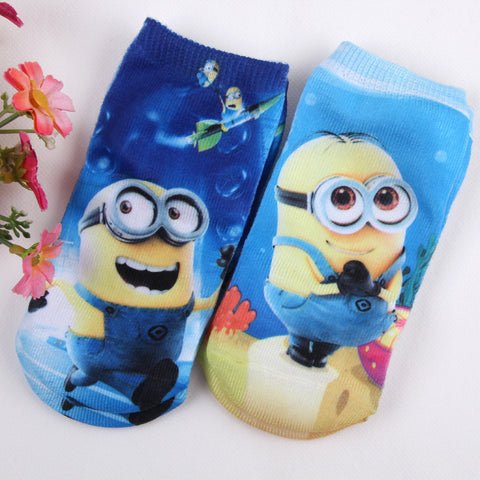 3D minions  1 or size 1-12years