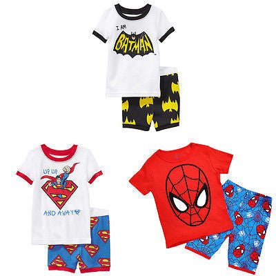 2 piece Short Sleeve Nightwear Pjs 1-7T