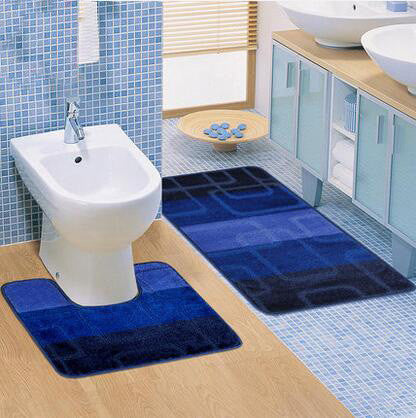 2PCS /Set Bathroom Toilet Mats