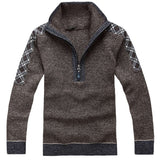 Casual Solid Pattern Knitted Sweater