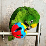 Animal Like Pet Bird Bites Toy Cockatiel Bird Like Toy Parrot Chewing Bites Swing Cages Playing Toys