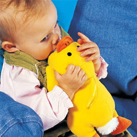 Yellow Duck & Green Turtle Cartoon Baby Bottle Huggers