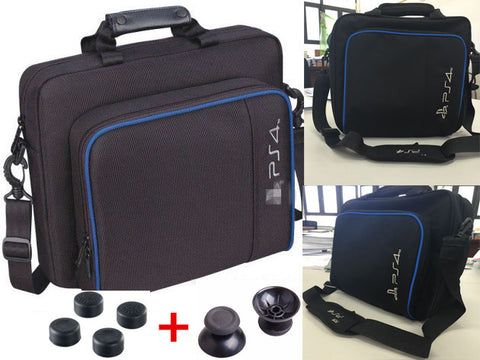 Sony PS4 PS 4 Playstation Storage Carry Case Cover Carrying Protective Bag Shoulder Bag