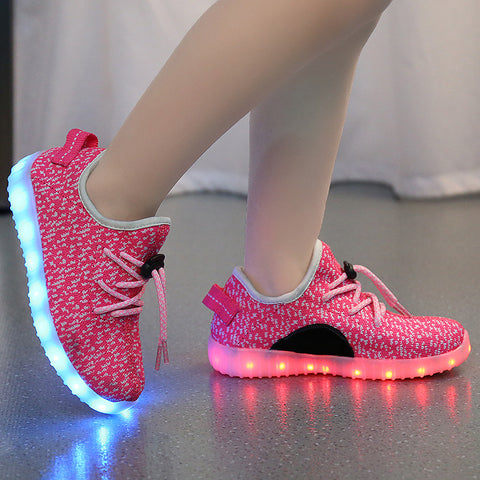 Boys And Girls Casual LED Shoes several colors