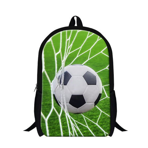 3d school bag football picture  Bookbag Kid school