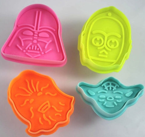 4pcs/set Star WarsCutters