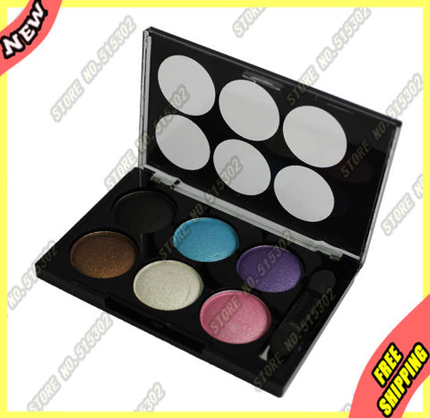 Divine Night Minerals Eyeshadow 6 Color Eye Shadow Palette 1665#1 New in Box Kit Set 1Pcs