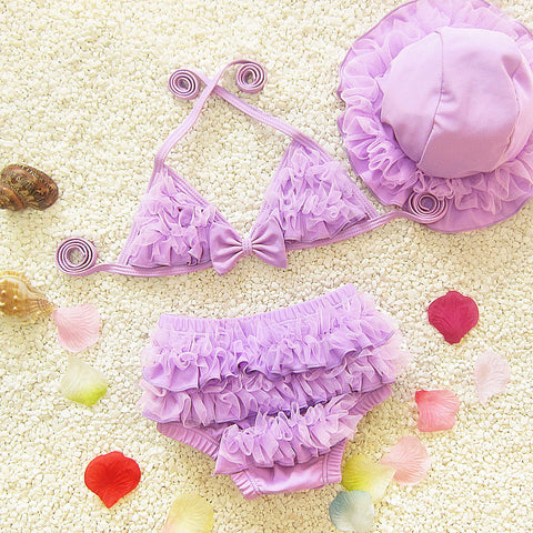 Bikini swimsuit Kids bathing suit Toddler meisjes bikini girl swimming suit TN027