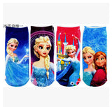 6 to 14 years polyester cartoon  despicable me girls Children's socks uhki041