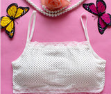 6 ColorsLovely Lace pad Underwear Cozy Training Bra For Kids #413
