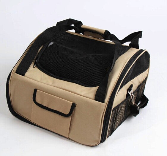 High Quality Pet Dog Cat Car Seat Travel Bag Oxford Fabric Portable Carrier Crate Safe Cage House