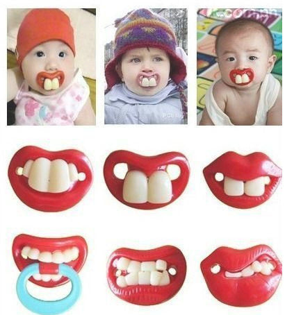 1PCS Silicone Nipples Baby Pacifiers Teether Toddler Dummy Infant Orthodontic