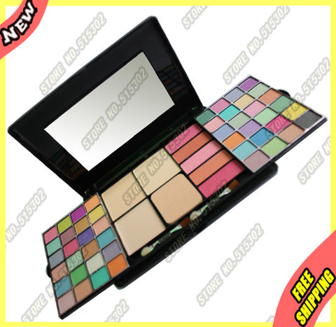 Pigment Shimmer / Matte 48 Eye Shadow 3 Foundation 5 Blush A3623 New Box Set 1Pcs