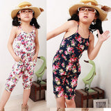 Kids Jumpsuit Short Playsuit Soft Clothing One-piece 2-8Y Drop&Free Shipping XL023