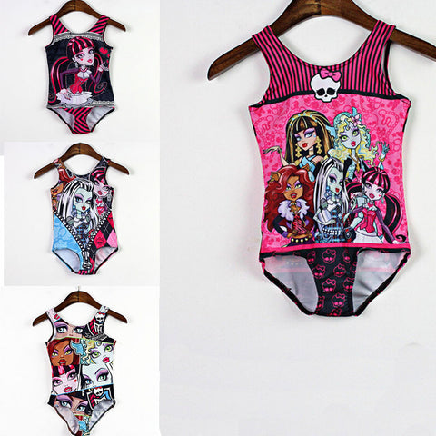 Beachwear One Piece Girls
