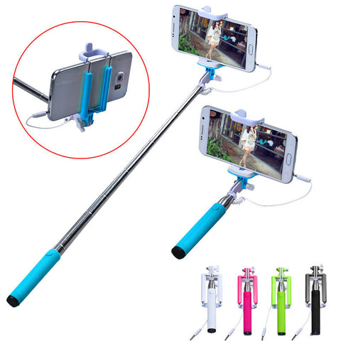 Extendable Self Protrait Stick Tripod Monopod Stick Selfie Stick For Cell phone
