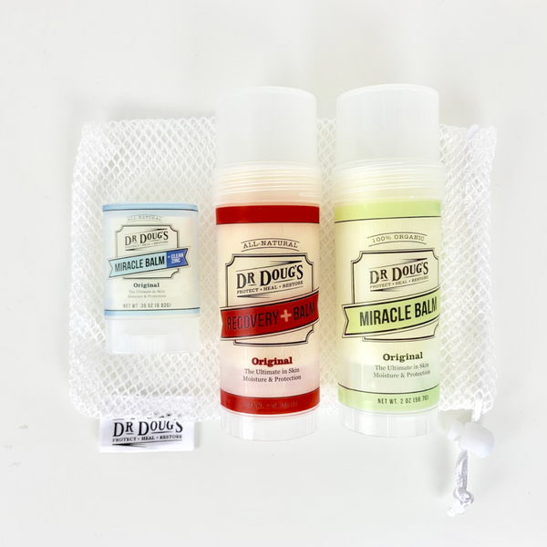 Athlete Essentials Kit - Dr. Doug's Miracle Balms