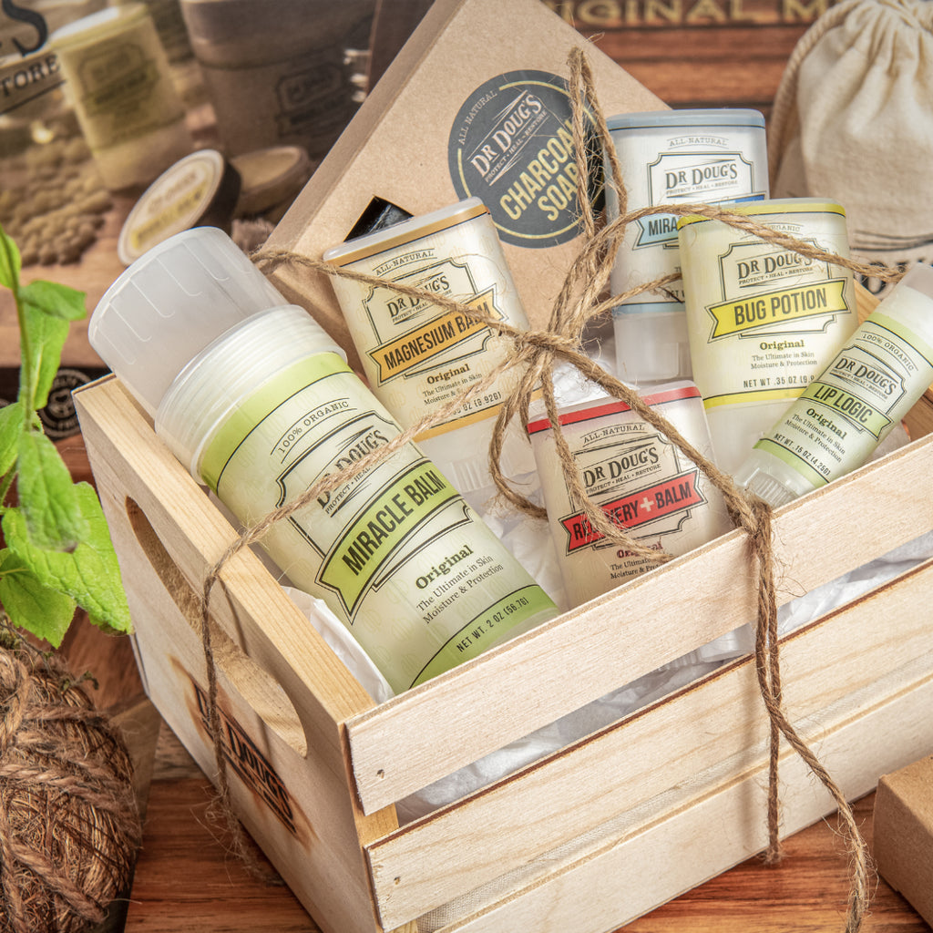 Gift Crate - Dr. Doug's Miracle Balms