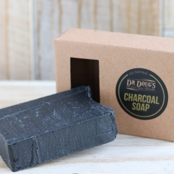 Charcoal Soap - Dr. Doug's Miracle Balms