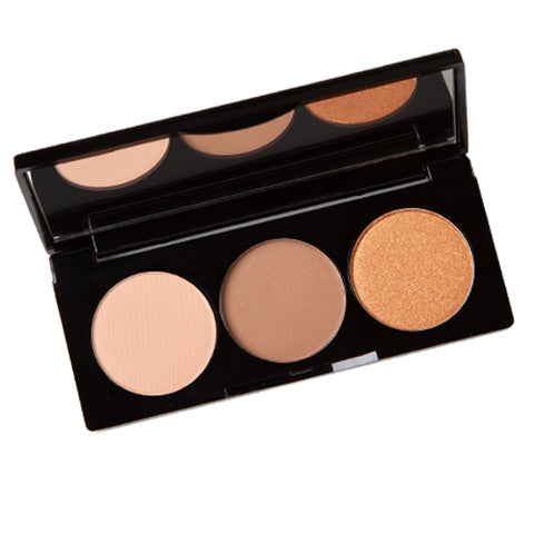 Gold Coast-Mineral Eyeshadow Trio
