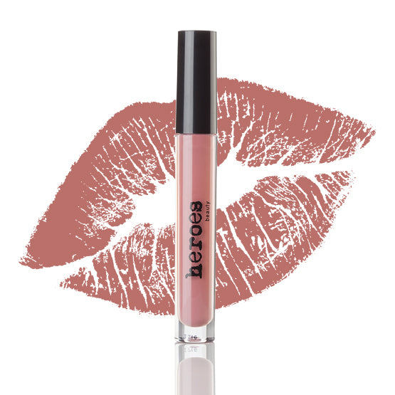 Rosy Nude Lip Kit-Bombshell Matte Lipgloss and Blush Liner
