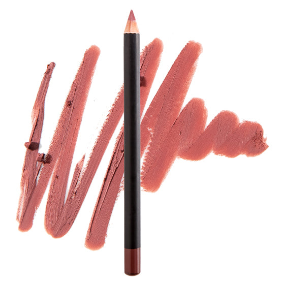 Perfect Nude-Flirt Vegan Matte Lipstick with Rosebud Liner