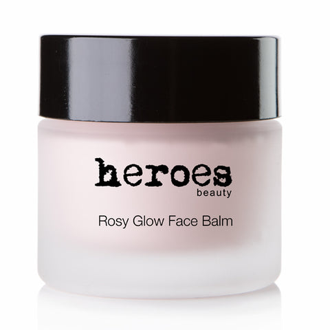 Rosy Glow Rose Face Balm (Vegan) AM/PM