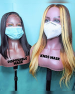 Masks (KN95 & Surgical) - Kissable Curls