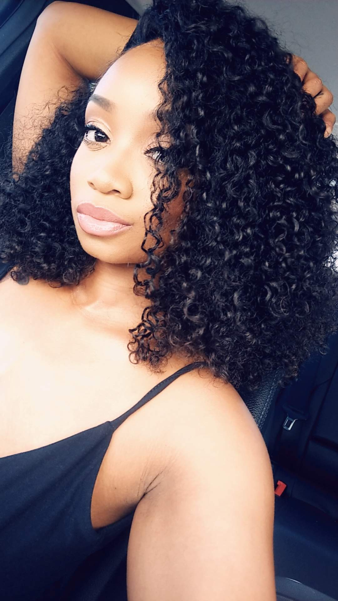 Kinky Curl Closure Unit - Kissable Curls