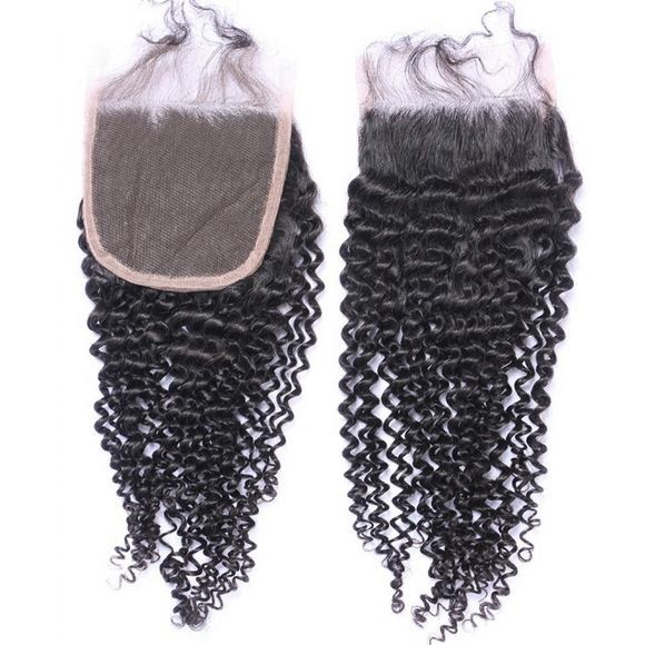 Kissable Kinky Curl Lace Closure