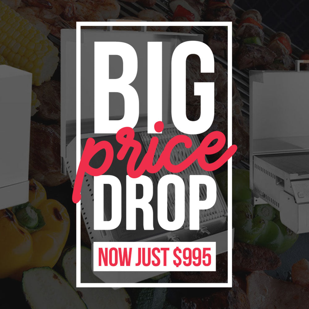 Space Grill new pricing, now just $995.