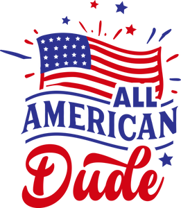 All America Dude (design only)