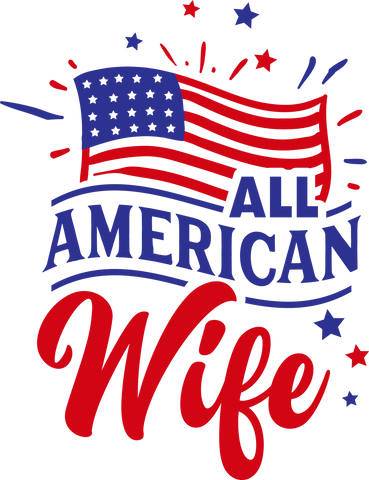 All American Wife (design only) - Morgan+Mae Co.