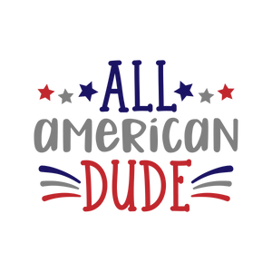 All American dude (design only)