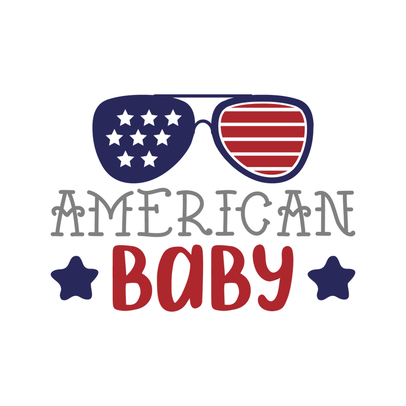American baby (design only) - Morgan+Mae Co.