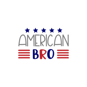 American bro (design only)