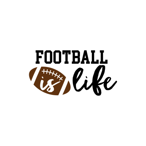 Football is Life (design only) - Morgan+Mae Co.