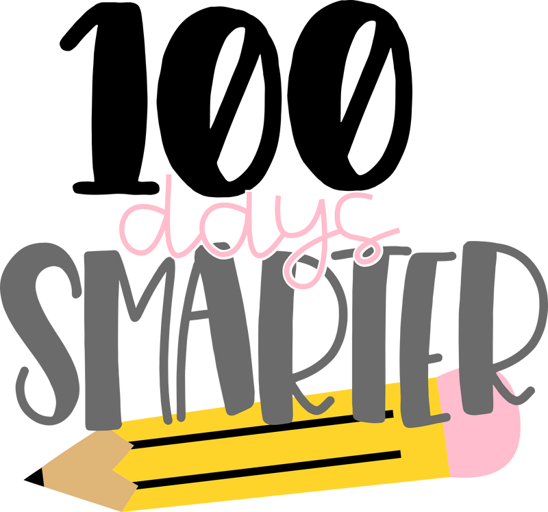 HMD 100 Days Smarter With Pencil (design only) - Morgan+Mae Co.