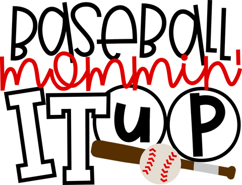 HMD Baseball Mommin It Up (design only) - Morgan+Mae Co.