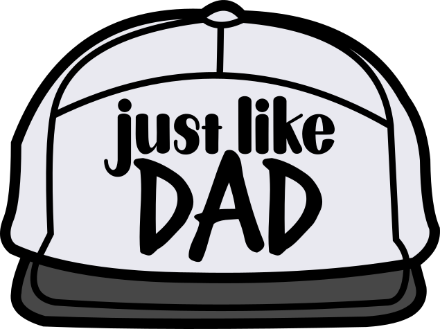 HMD Just Like Dad (design only) - Morgan+Mae Co.