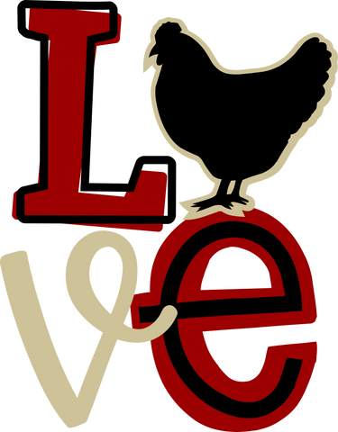 HMD Love Chicken (design only) - Morgan+Mae Co.