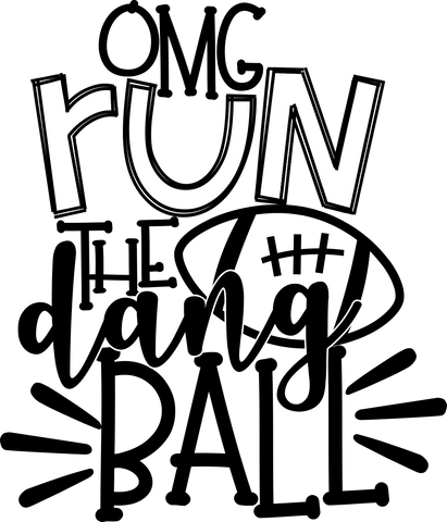 HMD OMG Run The Dand Ball (design only) - Morgan+Mae Co.