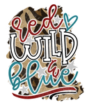 HMD Red Wild And Blue PRINTABLE (design only) - Morgan+Mae Co.