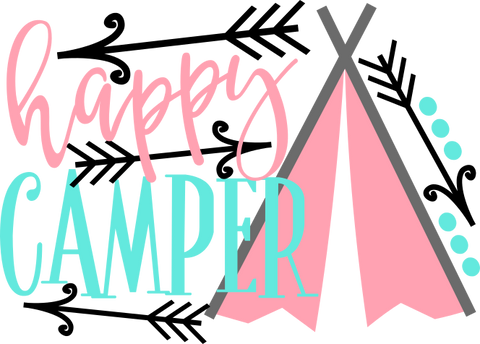 Happy Camper (design only) - Morgan+Mae Co.