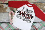HMDTR CHRISTMAS I Ate Santa's Cookies (design only)