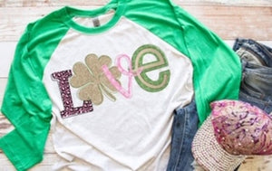 Love Shamrock PRINTABLE (design only)