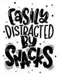 Easily Distracted PRINTABLE (design only)