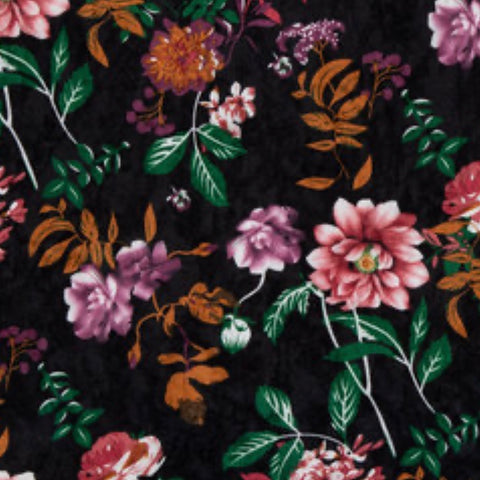Velvet Collection - Floral - Morgan+Mae Co.