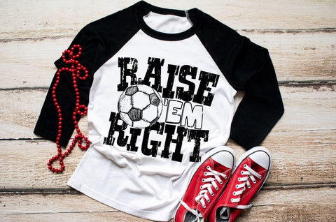 HMDTR SPTS Raise Em Right Soccer (design only)